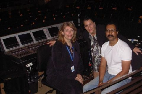 Christine and audio engineers
