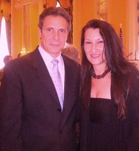 Andrew Cuomo and Christine Termini Passarella